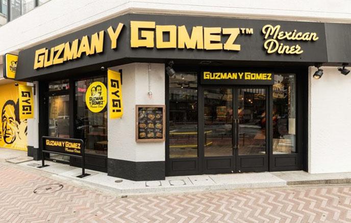 Guzman y Gomez 渋谷店外観