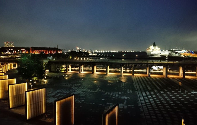 1-1&The Rooftop3横浜港一望